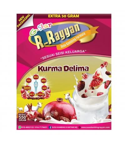 R-RAYYAN SUSU KAMBING KURMA DELIMA 550g