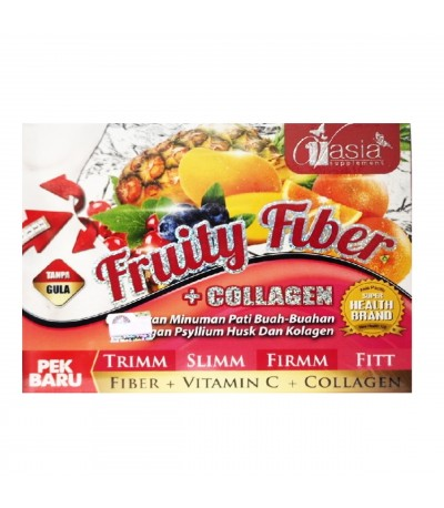 VASIA FRUITY FIBER COLLAGEN 15gx10sct