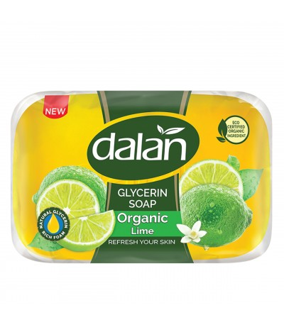 Dalan D Olive Organic Lime Soap 100g New