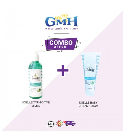 [COMBO] Joielle Top-To-Toe 250ml + Joielle Baby Cream 100gm