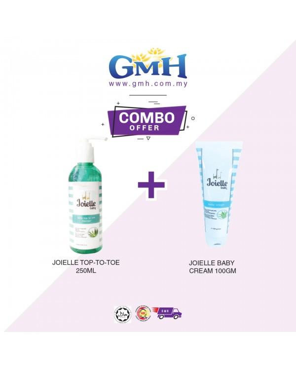 [COMBO] Joielle Top-To-Toe 250ml + Joielle Baby Cream 100gm