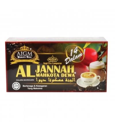 Kopi Al Jannah Mahkota Dewa 14in1 20sachet