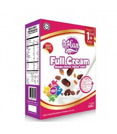 IRFAN FULL CREAM 500gm