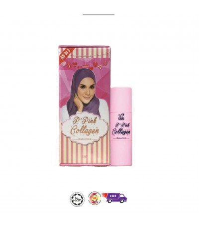 Dherb P'Pink Collagen Blusher Stick 15g