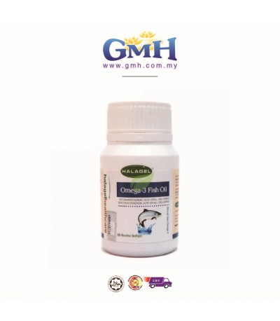 Halagel Omega-3 Fish Oil 60softgel