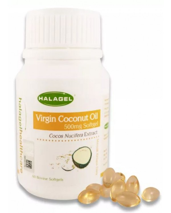 Halagel Virgin Coconut Oil 60softgel